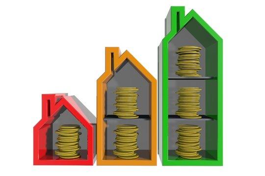 De waarde van huizen stijgt