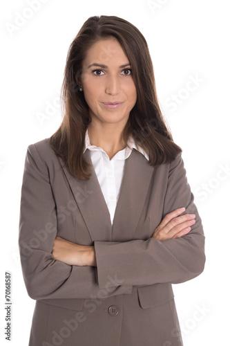 Bewerbungsfoto Einer Jungen Business Frau Stockfotos Und