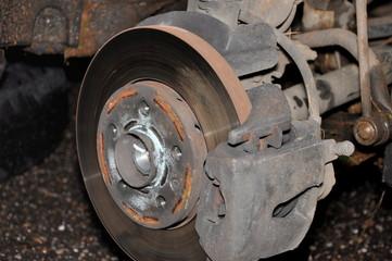 changing car wheel