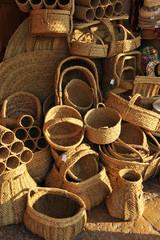 Artesanía española, objetos de esparto