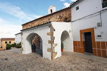 Wall Mural - Ermita calle Rincón de la Monja, Cáceres, España