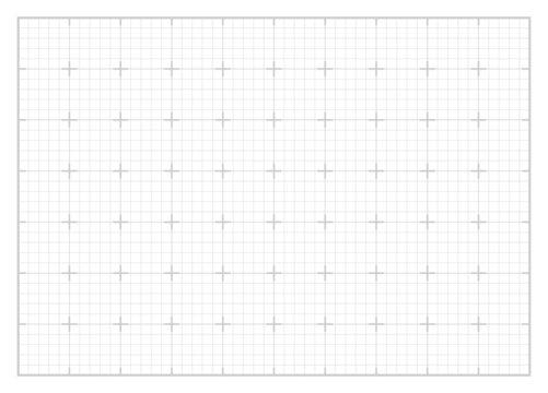 White square grid