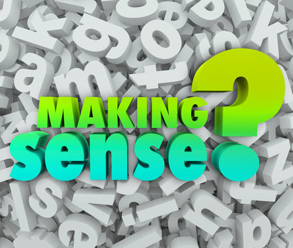 Making Sense 3d Words Letters Understanding Knowledge Grasping I