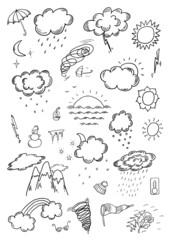 Hand Drawn Weather Sketch