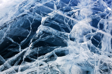 Ice cracks