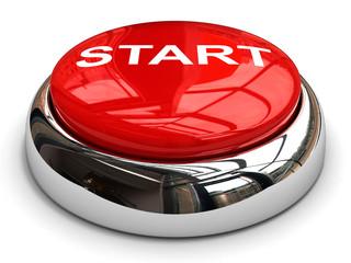 Red start button concept