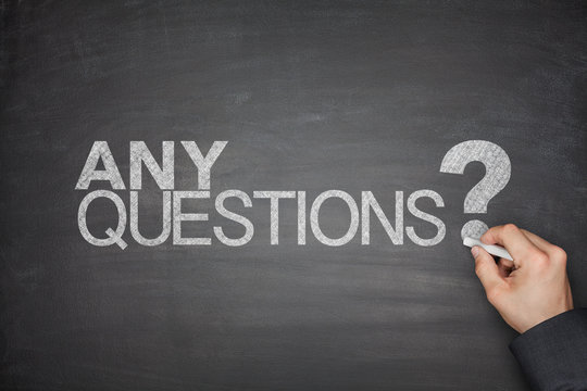 Any Questions concept on Blackboard