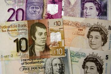 Scottish and English money