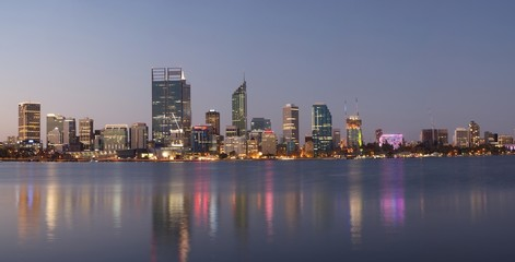 Panorama of Perth, Australia