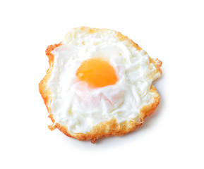 Printed kitchen splashbacks Egg fried egg