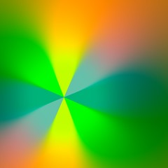 Abstract Blurry Green Rays Background - Fancy