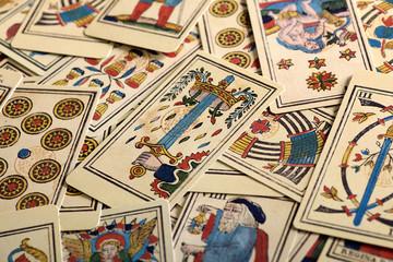 Full Frame of Tarot Cards