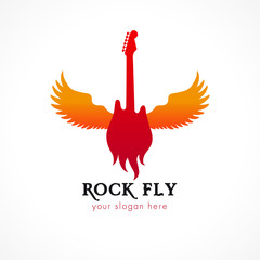 rock fly logo