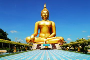 A Golden Buddha Image