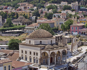 Athens Greece, Plaka and Monastiraki old neighborhood