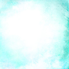 Abstract turquoise blank background