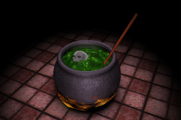 A Witches Green Brew
