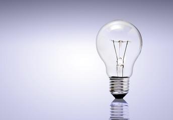 Lampe im Vordergrund