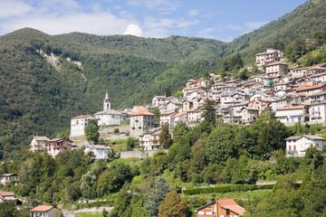 Veleso cityscape, Italy