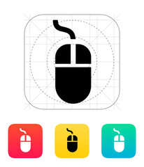 Wired mouse icon.