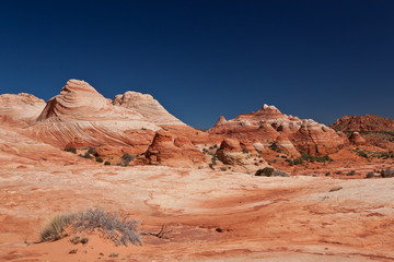 USA - coyote buttes - the wave formation