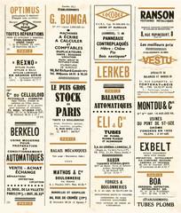 annonces vintage
