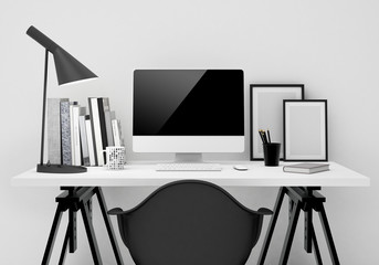 workspace mockup background