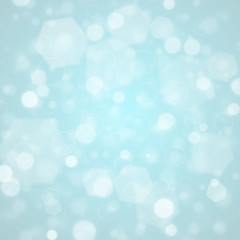 Christmas background with lights. Vector image