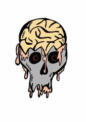 doodle Zombie Halloween