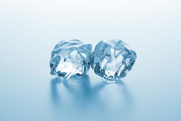 klare Eiswürfel