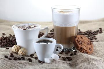 Latte Macchiato, Kaffee, Espresso