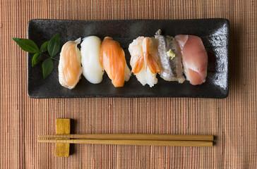 寿司 俯瞰