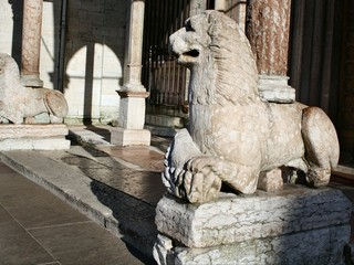Leone stiloforo della Cattedrale di San Vigilio a Trento