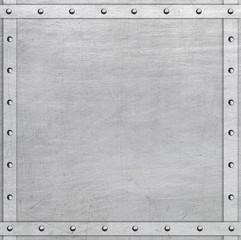 Riveted metal frame