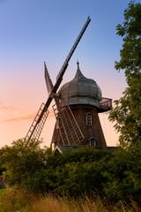 Alte Windmühle auf der Insel Öland, Schweden
