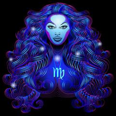 Neon signs of the Zodiac: Virgo