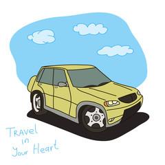 car in travel