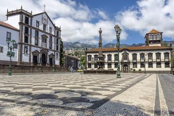 Historisches Rathaus in Funchal, Madeira Fototapete