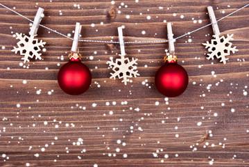Snow Christmas Decoration