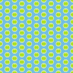 Grün-blaues, glänzendes Pünktchenmuster nahtlos wiederholbar
