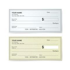 blank bank check template