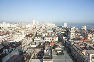 Havana, urban landscape over the city. Cuba.