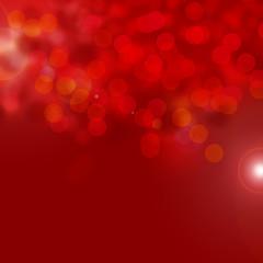 fond abstrait rouge avec effet bokeh