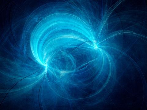 Blue electromagnetic field