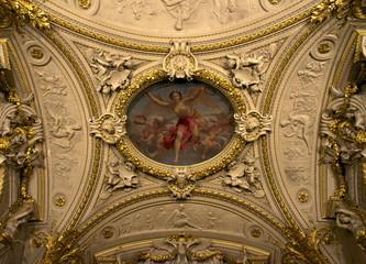 ベルサイユ宮殿のフレスコ画