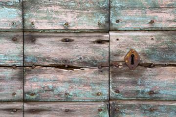 knocker in a  door curch   wood lombardy   lonate pozzolo