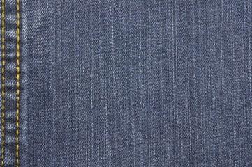 Jeans Stoff Hintergrund dunkelblau