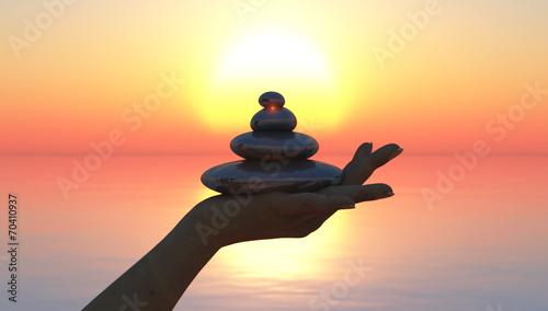 Zen photo libre de droits sur la banque d 39 images fotolia for Salon toilettage zen attitude