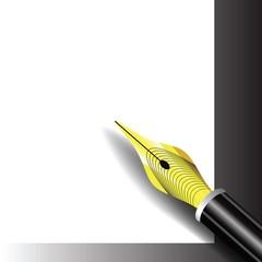 Fountain pen icon