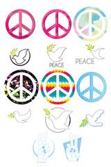 peace set